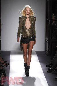 Balmain Spring 2010 Fashion Show, Paris: Runway